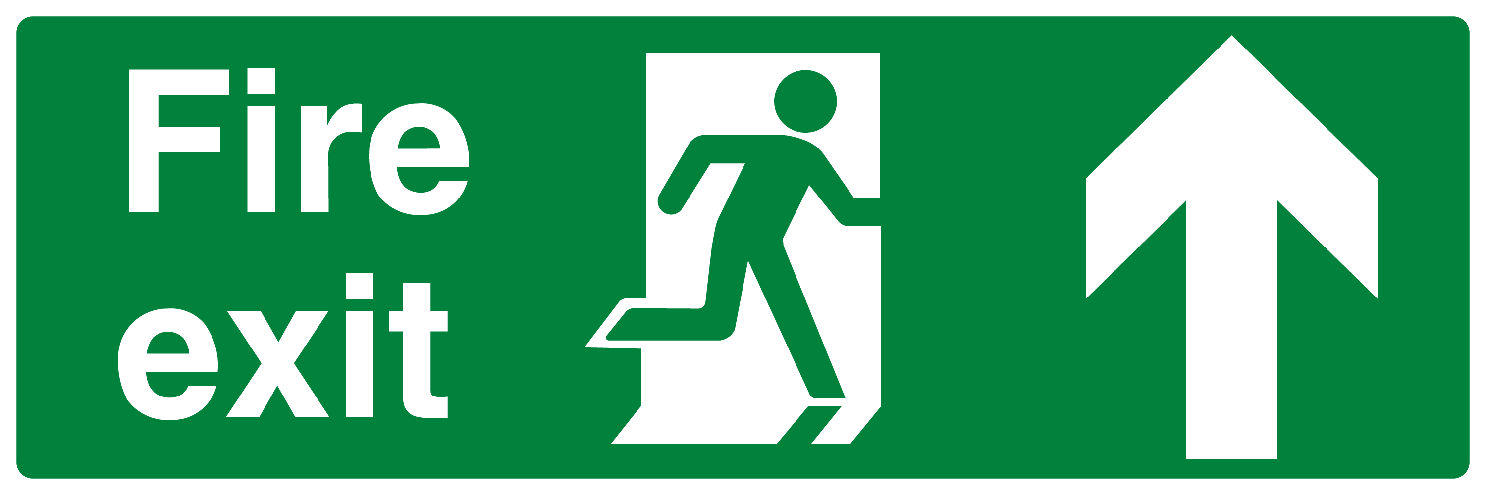 Fire Exit Running Man Up