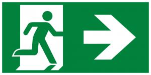 Running Man Right Arrow Right