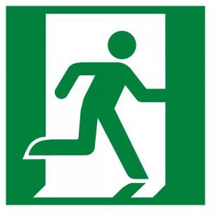 Running Man Right Symbol