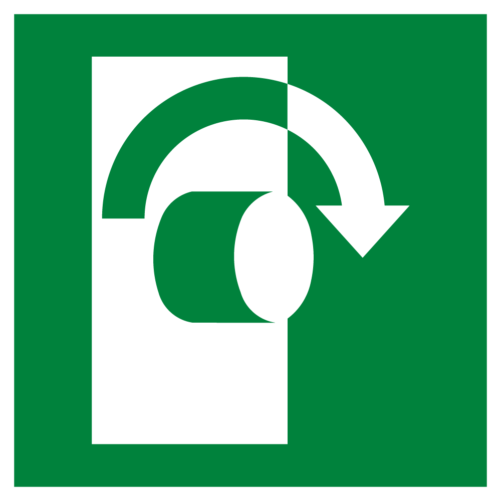 Turn Clockwise To Open
