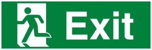 Running Man Left Exit