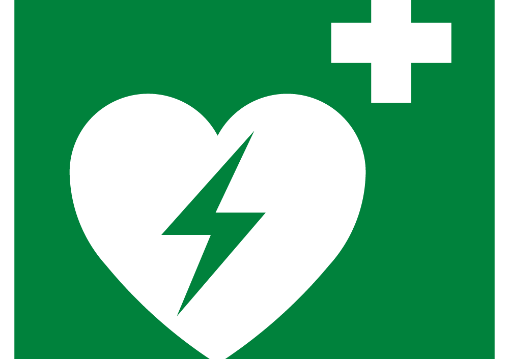 Automated External Heart Defibrillator(AED) Symbol