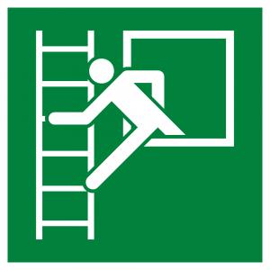 Emergency Window With Escape Ladder